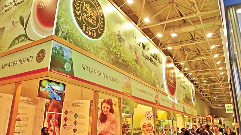 Exhibition Stall Design Sri Lanka : Sl participates in russian international exhibition
