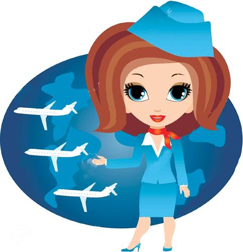 my aim in life to become a air hostess