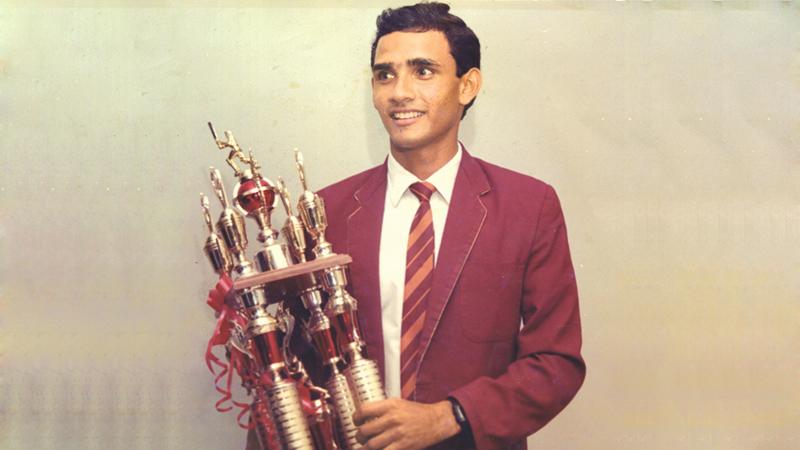 Marvan  Atapattu  of  Ananda  College Colombo who  won   the title in  1990.