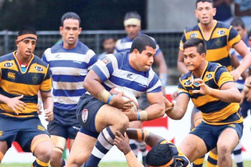 Singer 'A' division inter-school league rugby : Joes give
