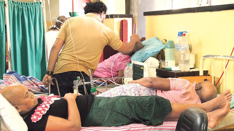 Kidney unit, Girandurukotte Hospital.  Pic: Lake House Media Library