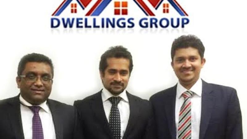 L to R: Directors of Dwellings Group Sanjika Abeyratna, Theekshana Somaratna and Navin De Silva