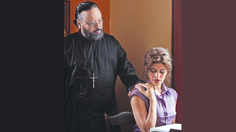 Alston Koch and  Jacqueline Fernandez  in a scene from the film