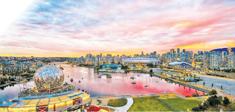 Sunset On Vancouver