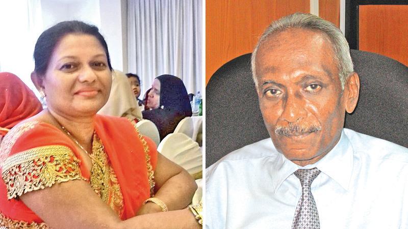Shiyana Nasim and Prof. Lakshman Jayathilake