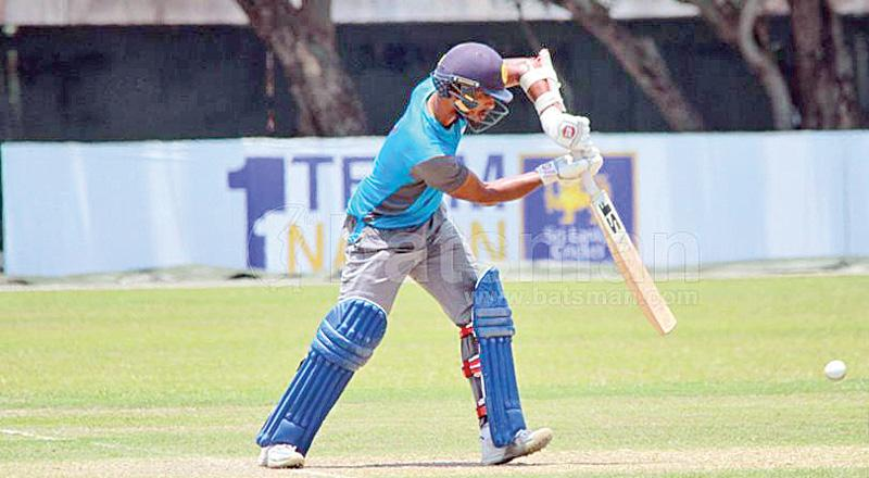 Dinesh Chandimal led Colombo from the front with a brilliant century.