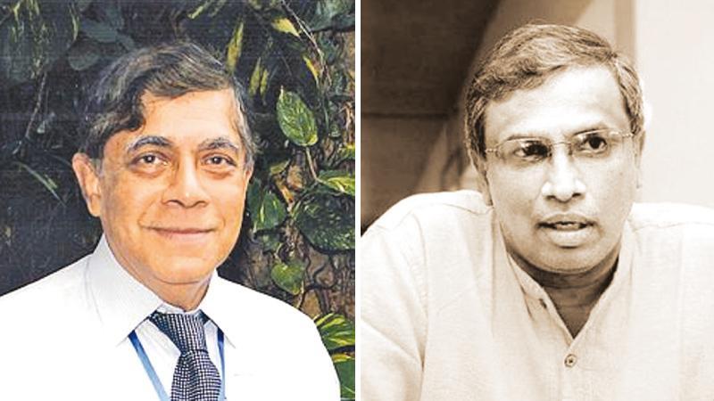 Dr. Nihal Jayawickrama and Sumanthiran