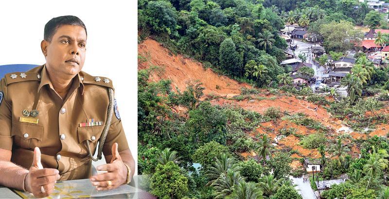 IP Ranga  Perera-The landslide at Ayagama in Ratnapura