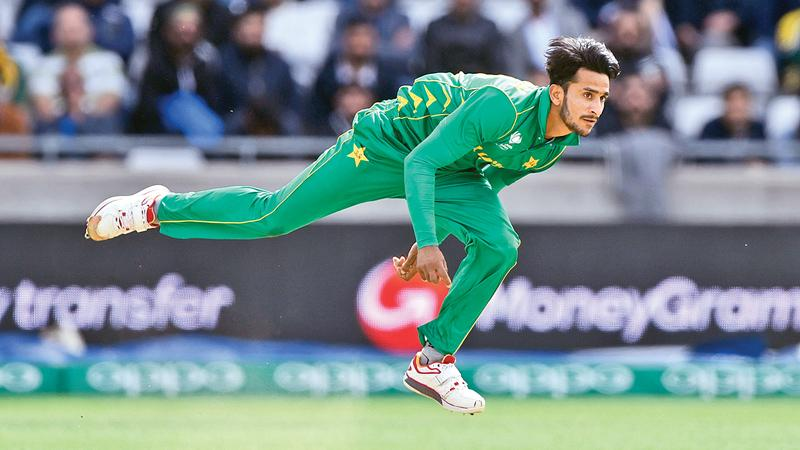Hasan Ali -  Pakistan paceman