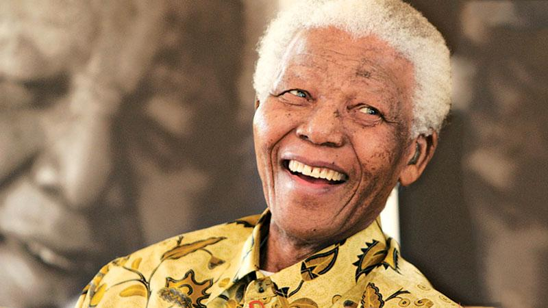 Former South African President, Nelson Mandela
