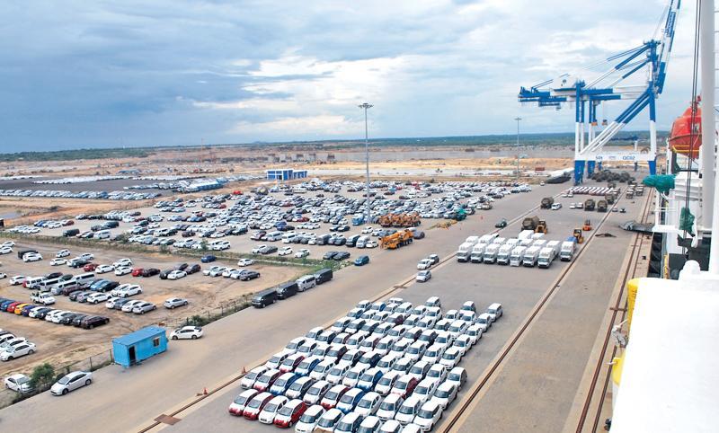 Hambantota port