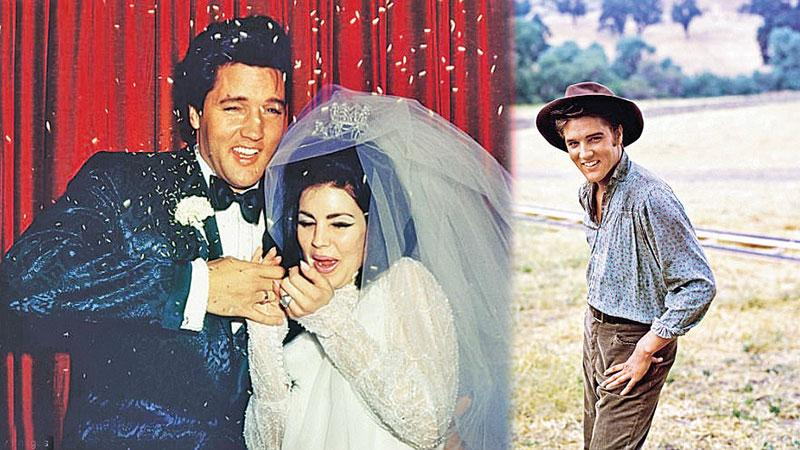 Elvis marries Priscilla Beaulieu on May 1, 1967 at the Aladdin Hotel, Las Vegas followed by a lavish reception. He'd first met her in Germany when she was just 14