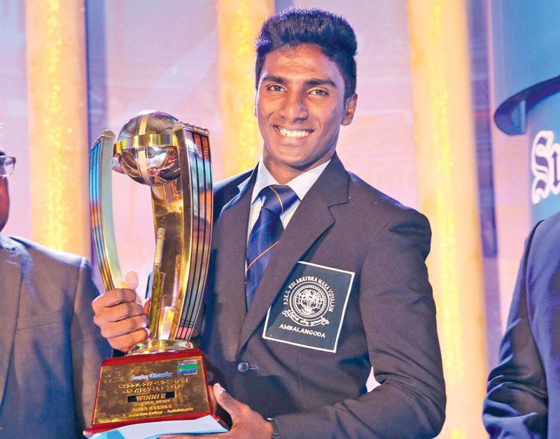 Nipun Ransika Schoolboy Cricketer of  The Year 2017