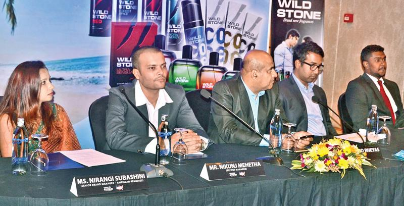 Company representatives at the launch . Pic: Vipula Amarasinghe