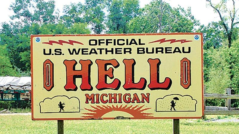 Hell, Michigan  (Pic: Wikimedia)
