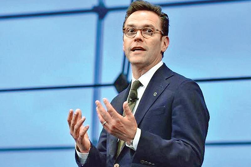 James Murdoch Pic: Getty
