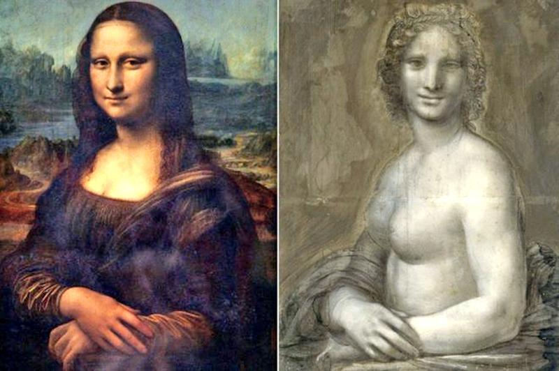 Have art experts just undressed (right) the Mona Lisa (left)?
