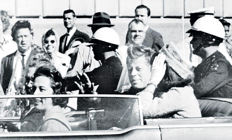John F Kennedy was shot dead on November 22, 1963, in Dallas in Texas