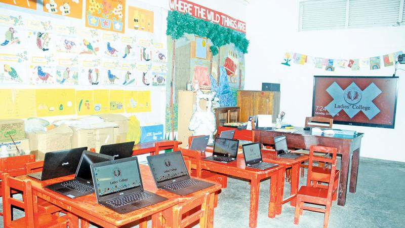 Special Education Classroom Decoration ~ Ladies college introduces interactive boards all