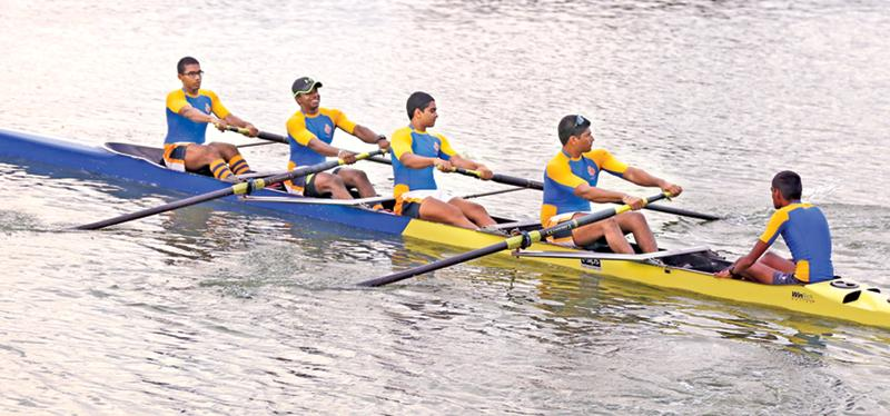 Victorious Royal fours in action