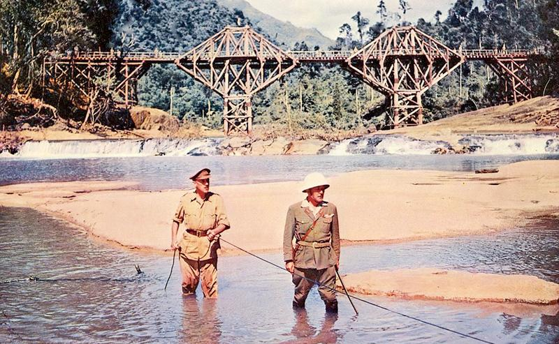 A STILL OF THE FILM: Location at Kitulgala  Pic: High-def digest