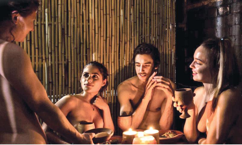 It remains to be seen whether Parisians will warm to the idea of naked dining