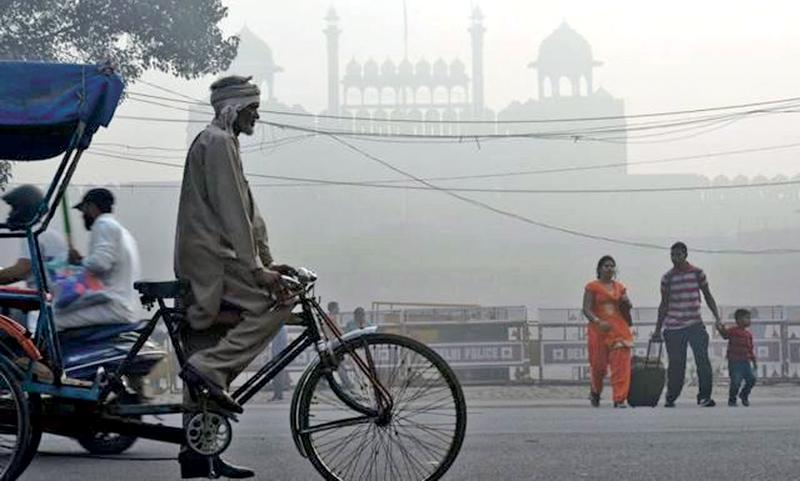 Pollution levels in Delhi have reached 30 times the recommended limit in some areas