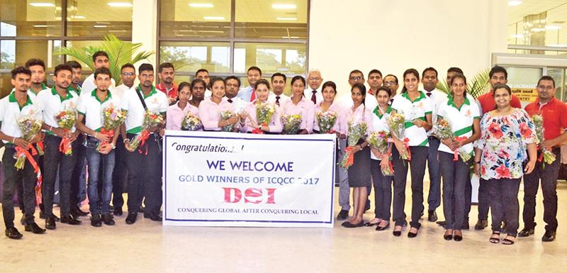 The DSI Samson Group team