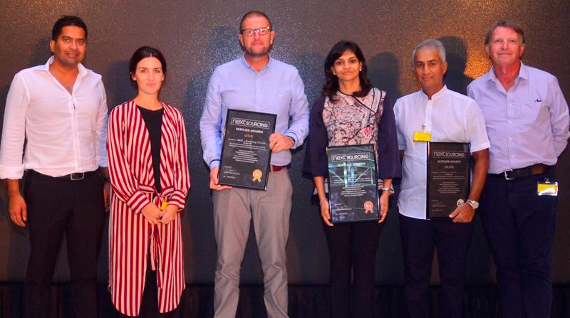From left: Wilhelm Elias - Associate Director next Sourcing, Louise Wint – Senior Product Manager next Sourcing, David Reay – Director of Manufacturing - next Manufacturing, Dushani Mahipala -Managing Director Miami Exports, Sidath Wettimuny– Managing Director Nobleswear (Pvt) Ltd, and Hugh McConnell – Technical Director next Sourcing