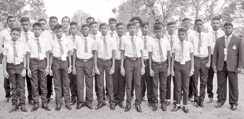 Manchester White : Rakeeb Razmin (Captain, Cresent Int.), Abdul Wahab (Vice Captain), M. Afzer (both from JMC Int.), Ishaan Ravichandran, Arun Kumar (both from Mutwal Hindu), P. Rakesh (Madampitiya St. Anthony's), Sachintha Rohan (Angoda Rahula), Firnaz Fayaz, Giuliano, Sheron Sthevan  (all three from Atami Int.), Malisha Shehan (Pobandiyewa V.), Udith Induwara, Malisha Ranjith , Sathsara Kahatapitiya, Sahuluka Hasaranga  (all four from Mahasen M.V.), Mohammed Shaad (Beacon Int.). The teams accompanied by C