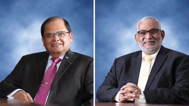 Dharma Dheerasinghe and Jegan Durairatnam