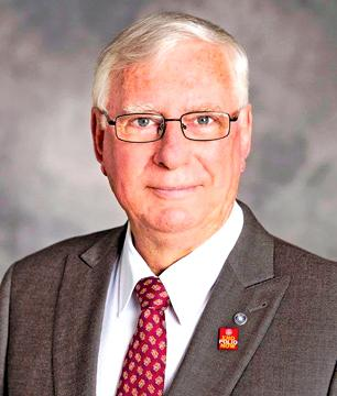 Rotary International President Ian Riseley