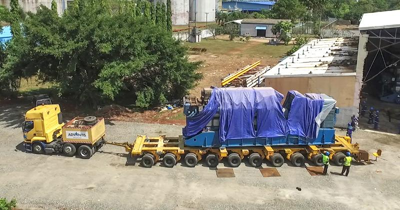 Advantis Project's Multi Axel Trailer