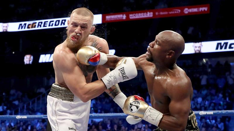 Floyd Mayweather and Conor McGregor's fight in North America.