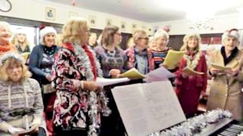 Everyone is welcome to the singing workshops and no-one  asks about mental health issues