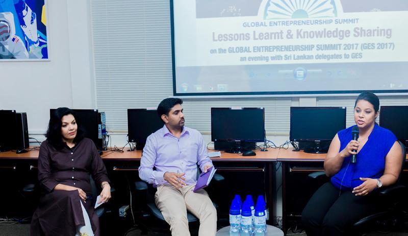 From left:  CEO, AdFactors PR, Rezani Aziz; Program Manager, ICTA,  Sachindra Samararatne and CEO, Quebee Den,   Rohanthi Wijewickrama.