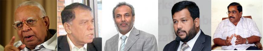 R. Sampanthan-M.T. Hasan Ali-Rauff Hakeem-Rishad Bathideen-Suresh Premachandran