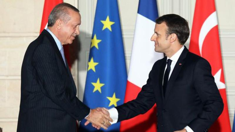 The two leaders promised to deepen their co-operation in the fight against terrorism