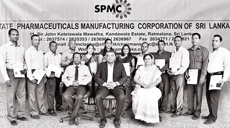 SPMC fetes long-serving employees   Sunday Observer