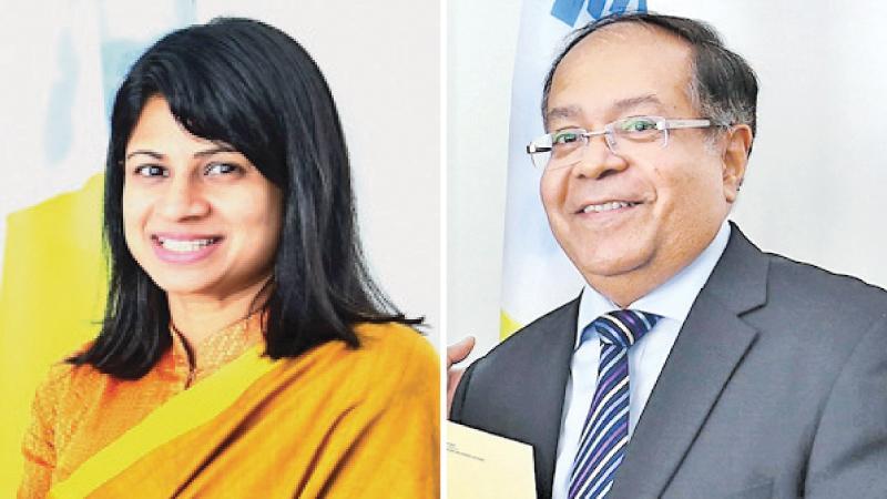 Ms Inoshini Perera and Kumar de Silva