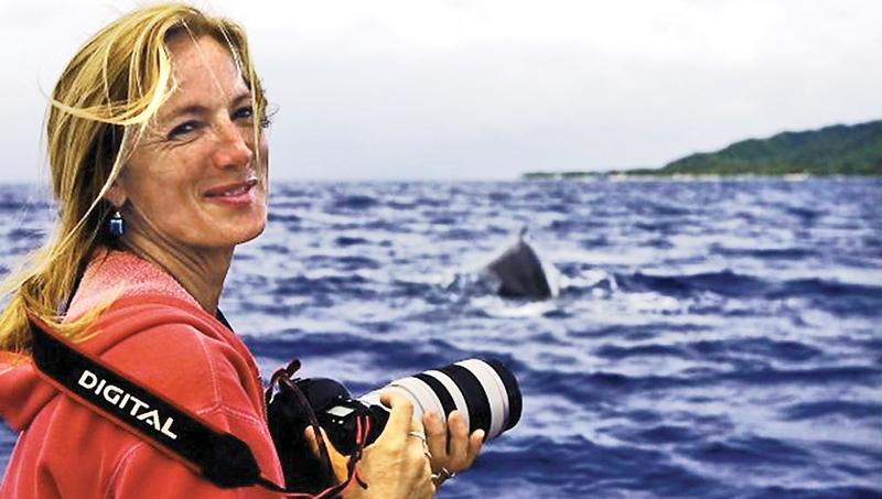 Brunswick biologist Nan Hauser