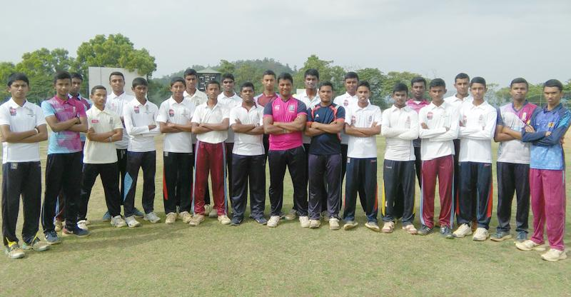 Dharmaraja College cricket squad