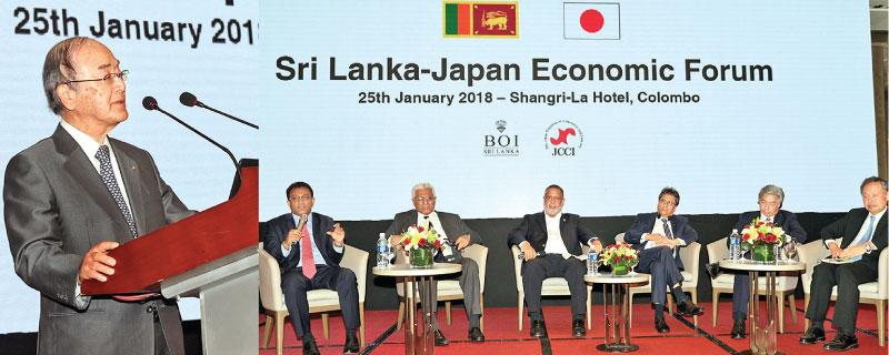 The Sri Lanka-Japan Economic Forum in progress