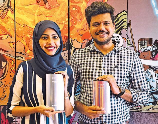 kila Abdul Azeez and Minendra  Sarathchandra