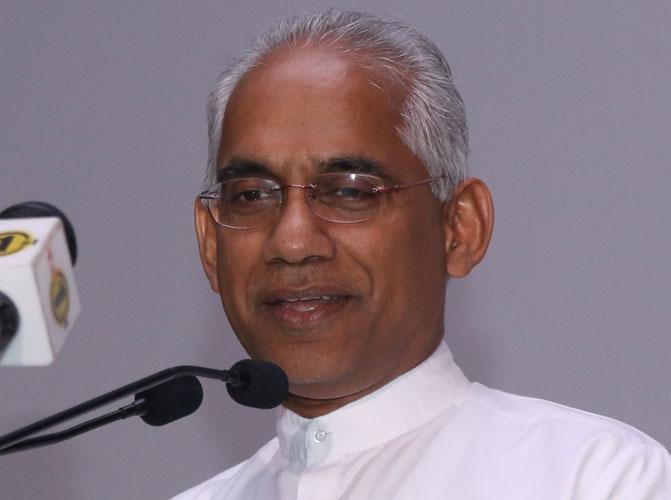 Minister Eran Wickremaratne