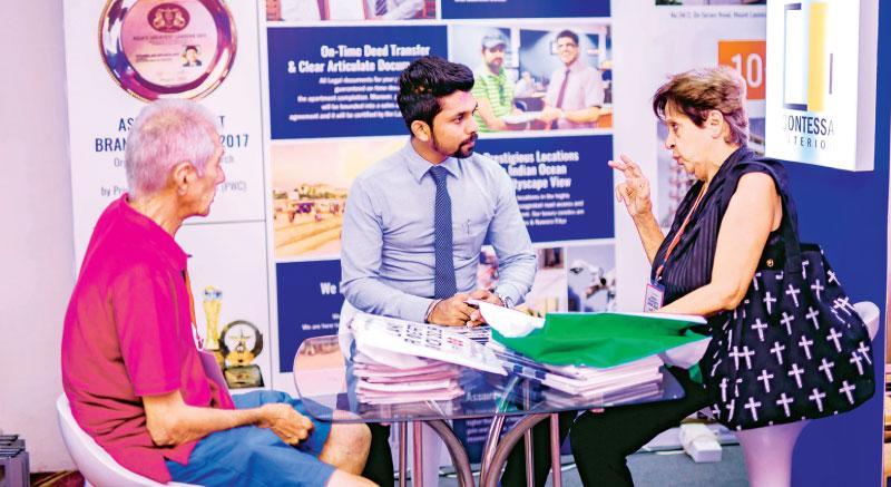 LankaPropertyWeb com holds property show | Sunday Observer