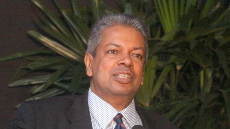 Prof. Ajantha Dharmasiri (Pic: Chaminda Niroshana)