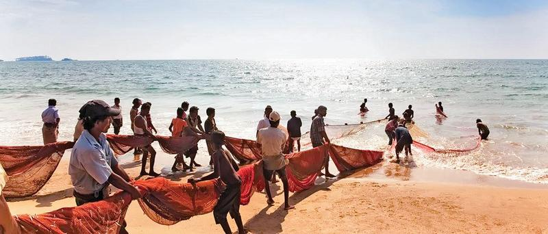Displaced residents are allowed to fish off the Iranaitheevu Islands but only in the day time  photo    courtesy: uplist