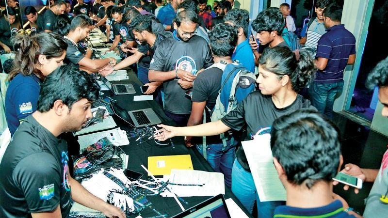 Registration at 'Google IO Extended Sri Lanka 2018'