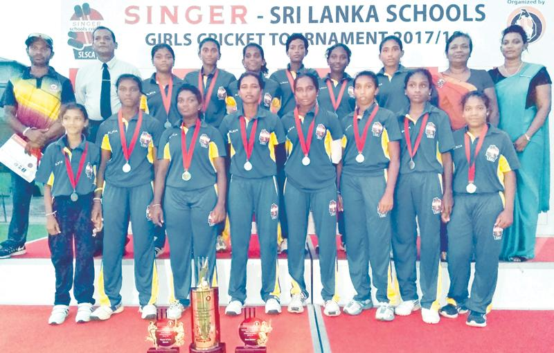 Girls from Devapathiraja College in Galle pictured here in this photo after winning the 2018 title are some of the players who will be able to nudge the judges. The champion girls team comprise Nilakshana Sandamini (captain), Kavisha Dilhari, Sathya Sandeepani, Pooja Rashmi, Suleesha Sathsarani, Umesha Thimeshani, Sachini Nisansala, Thileeshiya Chathurangi, Imesha Dulani, Shikhari Nuwantha, Ihara Sewwandhi, Ishara Sanjeewani, Sumudu Nisansala, Sapna Madubhashani and Shashika Imalshi who were coached by Mah